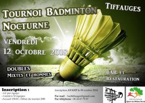 Tournoi Tiffauges 2018