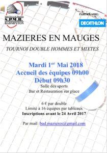 Tournoi Mazières