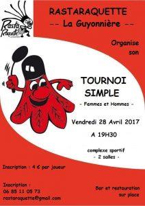 Tournoi La Guyonnière 2017