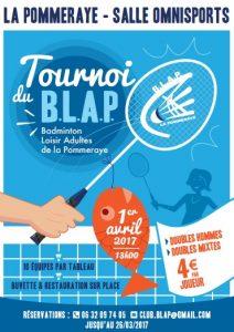 Tournoi La Pommeraye 2017