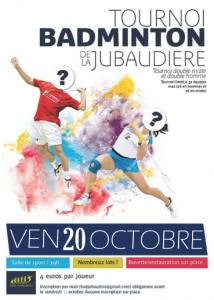 Tournoi La Jubaudière 2017