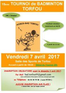 Tournoi Torfou 2017