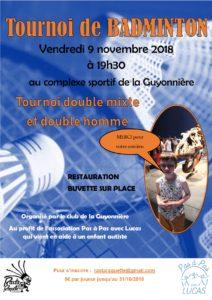 Tournoi La Guyonnière 2018