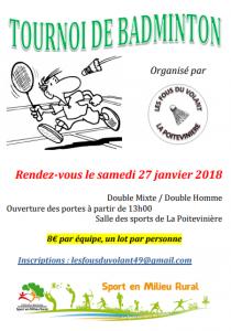 Tournoi La Poitevinière 2018