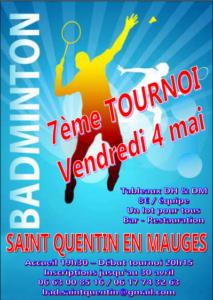 Tournoi St Quentin 2018