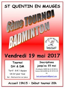 Tournoi Saint Quentin