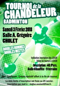 Tournoi Cholet 2018