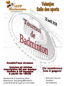 Tournoi Valanjou 2018